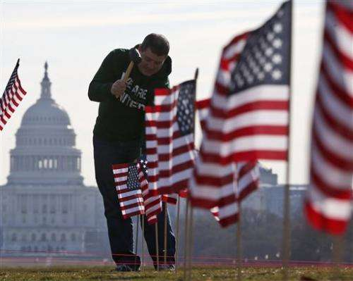 Senate takes up bill to lower suicide rate among vets