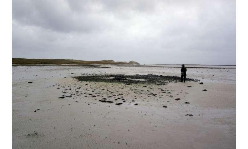 Shifting sand dunes reveal hidden Bronze Age settlement