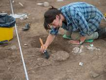 Skeletons uncovered at Ipplepen reveals major Roman cemetery