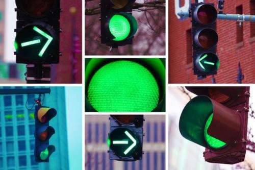 Smarter programming of stoplights could improve efficiency of urban traffic