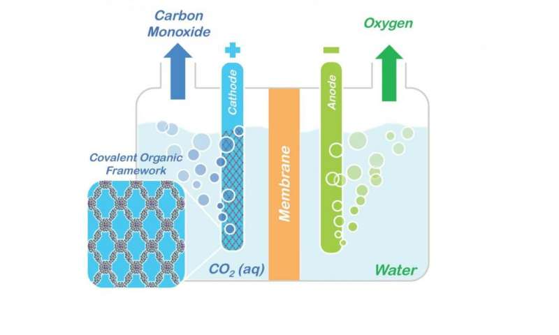 Soaking up carbon dioxide and turning it into valuable products