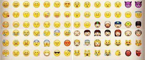 Some bilinguals use emoticons more when chatting in non-native language
