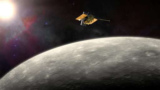 Spacecraft circling Mercury will crash into planet April 30