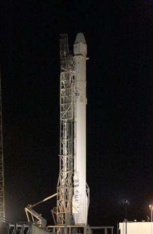 SpaceX aims for pre-dawn launch to the space station
