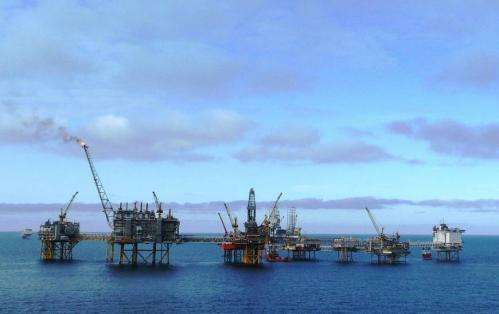 Stanford scientists use ocean waves to monitor offshore oil and gas fields