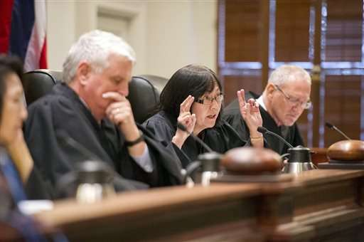 State Supreme Court suspends Hawaii telescope permit
