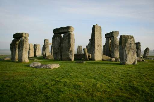 Stonehenge in southern England is one of the most iconic ancient sites in Europe