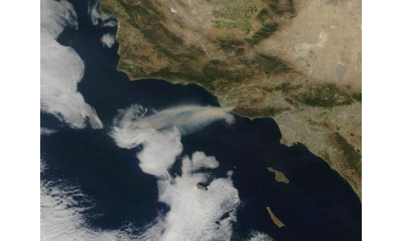 Stratospheric accomplice for Santa Ana winds and California wildfires