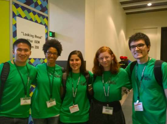 Student team engineers E. coli to adhere to colon cancer cells