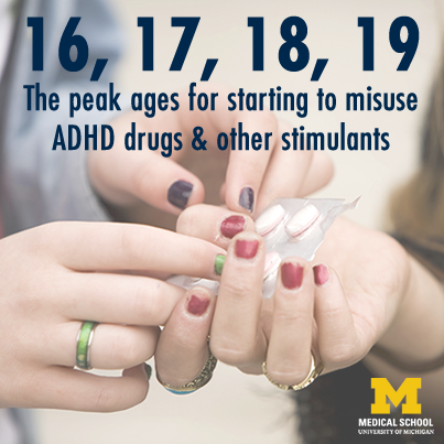 Study: Teens start misusing ADHD drugs and other stimulants earlier than you might think