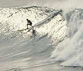 Surf's up. be safe