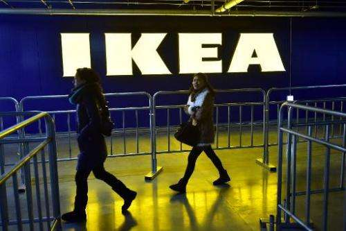 Swedish furniture-maker Ikea has announced a line of bedside tables, lamps and desks equipped with wireless charging spots