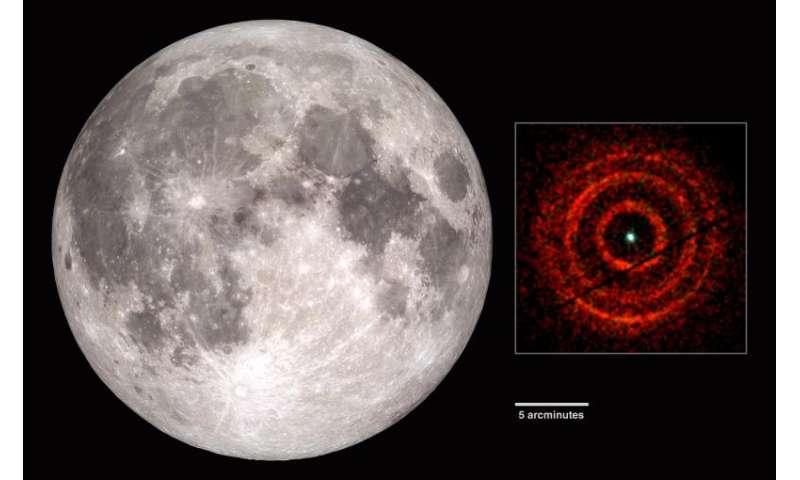 Swift satellite reveals a black hole bull's-eye