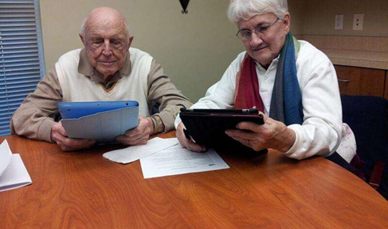 Tablets can help elderly cross the 'digital divide'