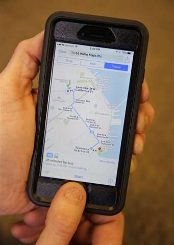 Take the A train? Apple, Google and other apps can tell you