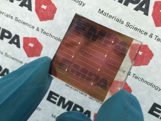 Tandem solar cells are more efficient