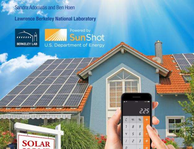 Team of appraisers across six states find home buyers will pay premium for solar homes