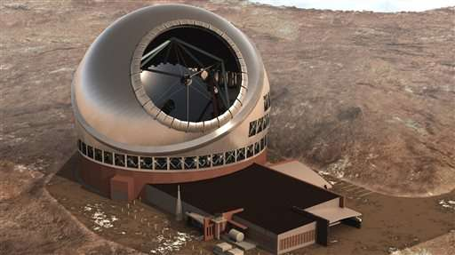 Telescope backers to resume construction on Hawaii Island