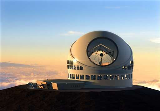 Telescope construction set to resume, but battle continues