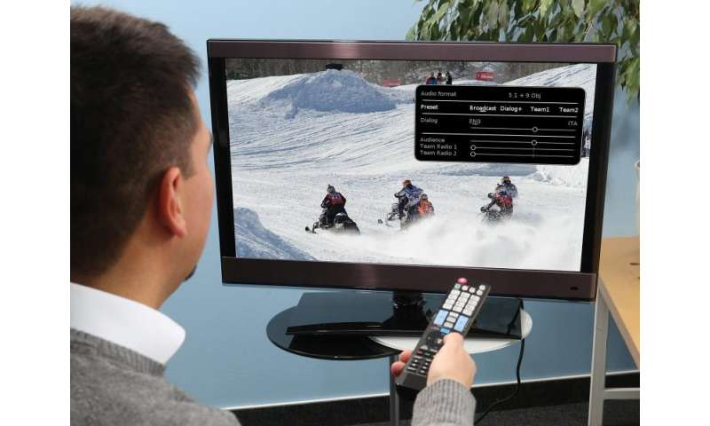 Television audio of the future - customizable and in 3D