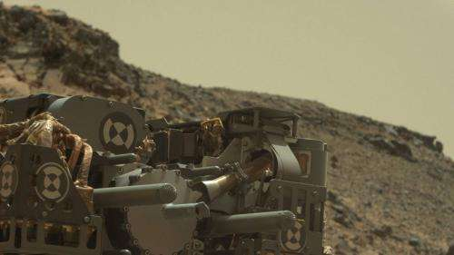Testing to diagnose power event in Mars rover