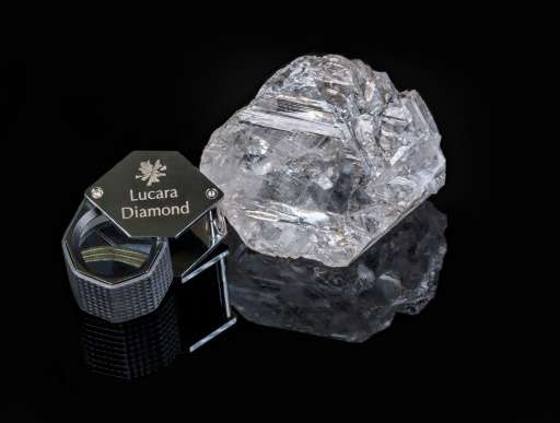 The 1,111 carat stone is the world's second largest gem quality diamond ever recovered