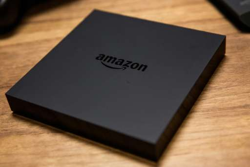 The Amazon Fire TV - a device that allows users to stream video, music, photos, games and more through a television - is display