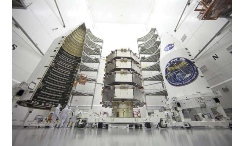 The fearsome foursome: Technologies enable ambitious MMS mission