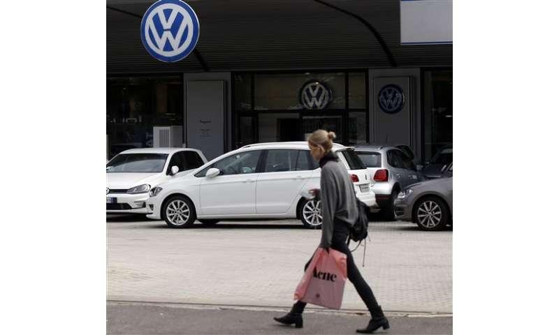 The Latest: 2.1 million Audi vehicles have suspect software