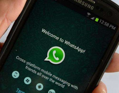 The popular mobile messaging application WhatsApp, acquired by Facebook last year for nearly $22 billion, unveiled a new service