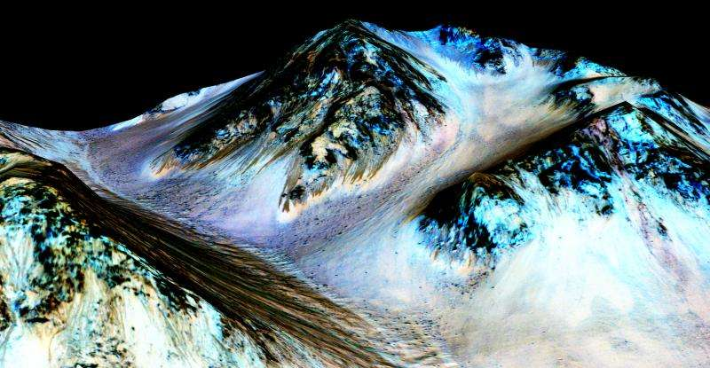There is water on Mars, but what does this mean for life?