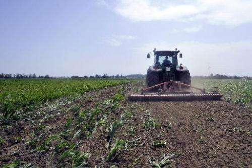 The report found that less than six percent of farmland in Europe was used for organic production in 2012