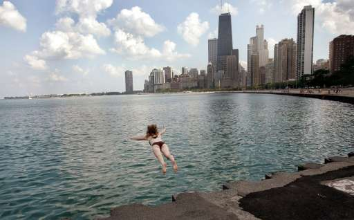 The United States is to announce an 75-square-mile (2,300 square kilometers) area of Lake Michigan in Wisconsin as a new marine