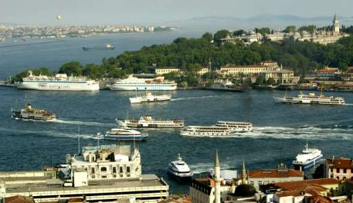 Through ride-sharing Uber's smartphone app, users in Turkey will be able to locate the nearest boat on the Bosphorus