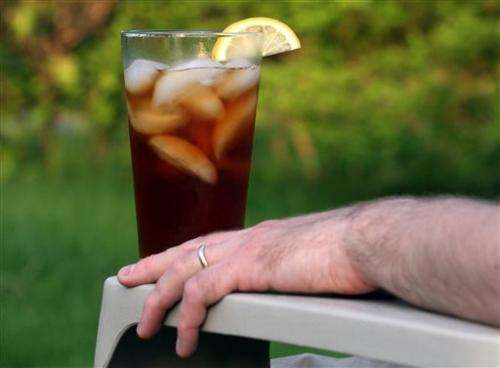 Too much iced tea caused US man's kidney problems