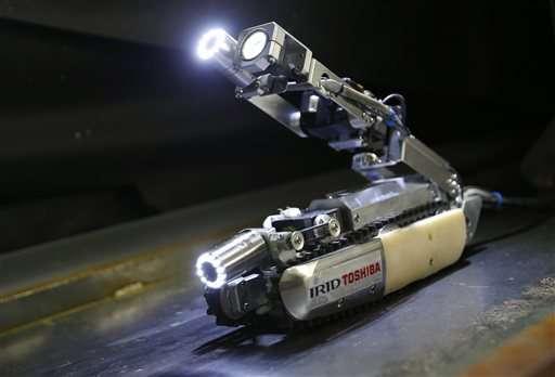 Toshiba's 'scorpion' robot will look into Fukushima reactor