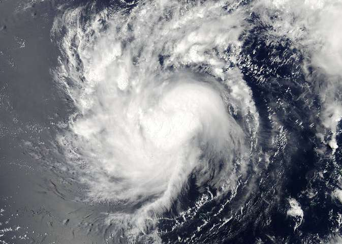 Tropical Depression Haishen moves away from Fananu