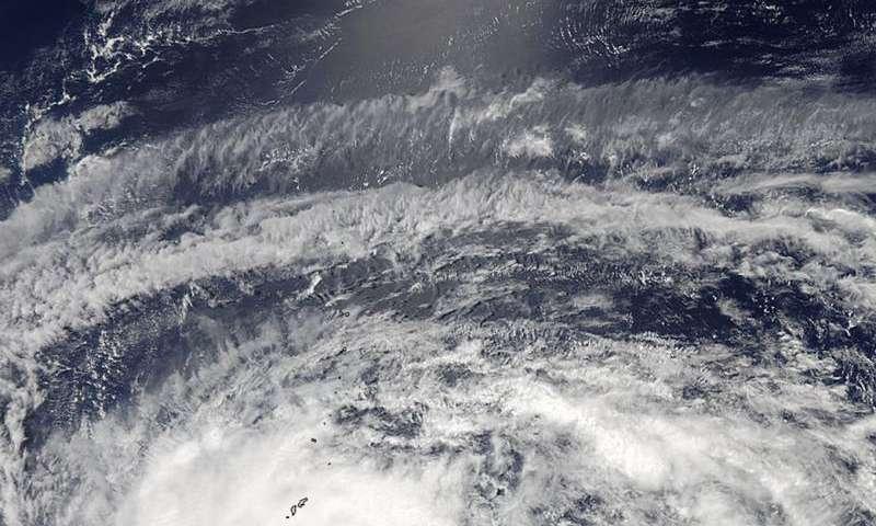 Typhoon Dolphin looms over Guam