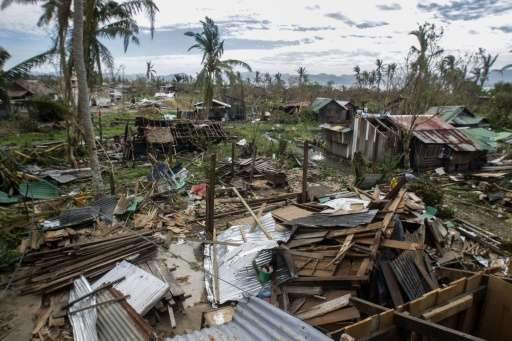 Typhoon Koppu is the second strongest typhoon to hit the Philippines this year, flooding towns, destroying houses and displacing