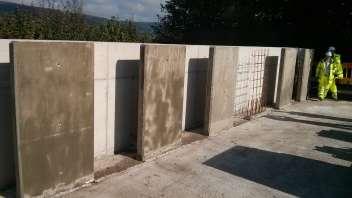 UK's first major trial of self-healing concrete gets underway in Wales