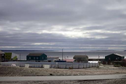 Umiujaq is a remote village on the shore of Hudson Bay in east Canada—part of a region which is warming twice as fast as the res