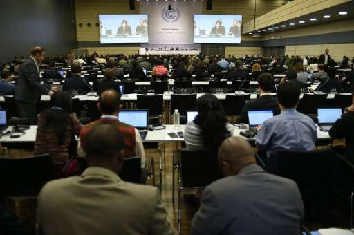 UN diplomats are gathering in Germany for a last five-day negotiating session before 195 nations try to ink a global climate pac