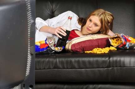 Unhealthy' image influences adolescents' food choices
