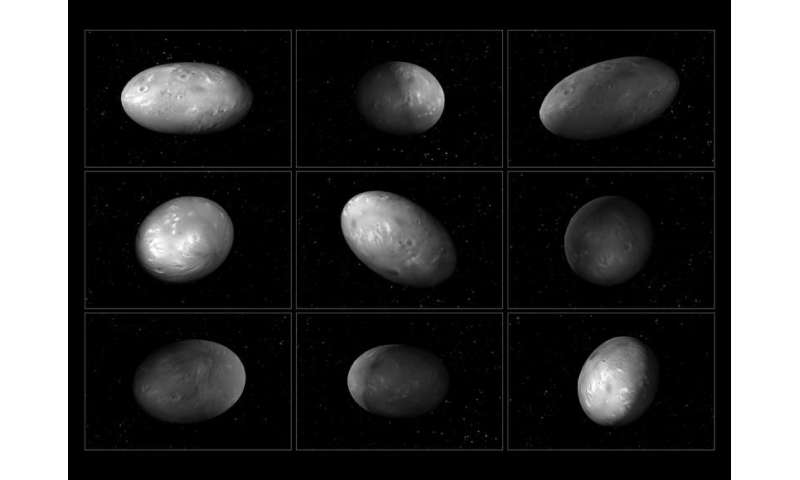 Unusual interactions between Pluto's moons