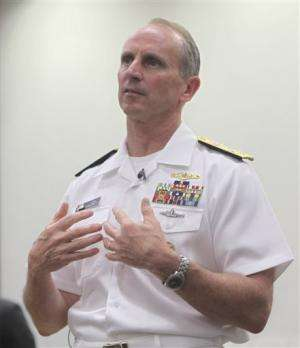 US admiral praises laser and electromagnetic guns on costs