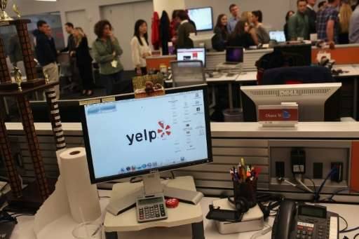 US government agencies crafted and agreement with review site Yelp to engage with citizens as part of an effort to improve servi