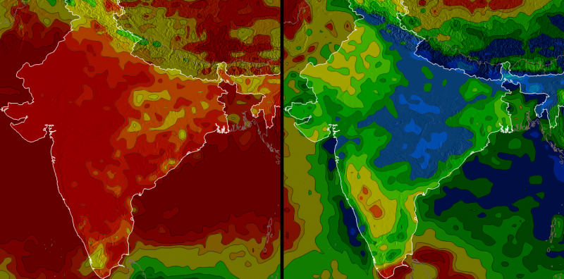 Using NASA data to show how raindrops could save rupees