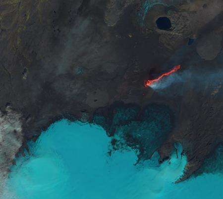 Using radar satellites to study Icelandic volcanoes and glaciers