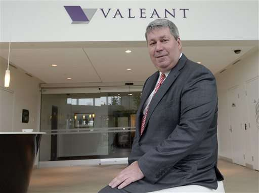 Valeant CEO takes medical leave