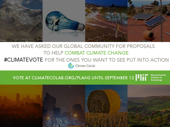 Voting open for top climate change innovations